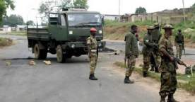 Image result for Soldiers ambushed, wounded in Benue