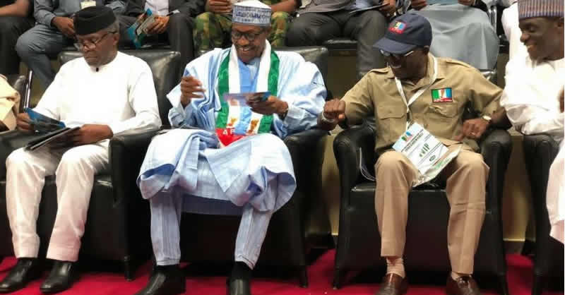 Image result for APC announces Presidential Campaign Council for Buhari