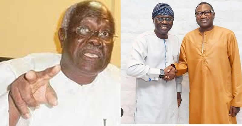 Image result for Femi Otedola's endorsement of Sanwo-Olu is very shocking –Bode George