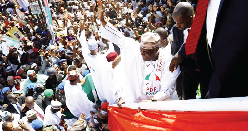 Image result for PDP rented Sokoto crowd from Niger Republic, El-Rufai alleges