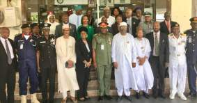 Image result for INEC inaugurates electoral logistics committee