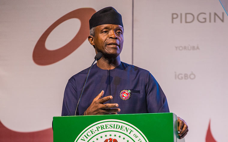 Image result for Go to court, Osinbajo tells restructuring advocates
