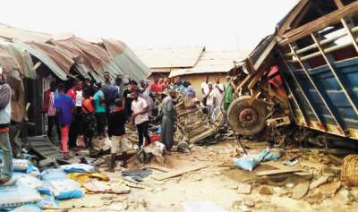 Image result for Ekiti truck accident