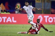 Mahrez scores as Algeria qualify for AFCON