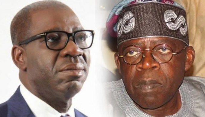 Edo 2020: Obaseki doesn't deserve your votes, reject him, Tinubu begs voters