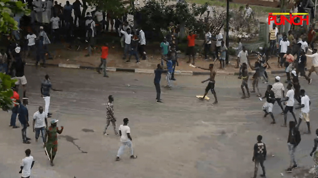 #EndSars: Armed thugs attack protesters in Ikeja, Lagos