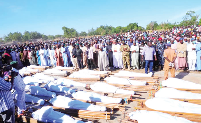 43 farmers killed by Boko Haram didn't have clearance to farm – Buhari's aide
