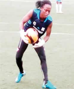 Former Super Falcons fringe goalkeeper, Bidemi Aluko