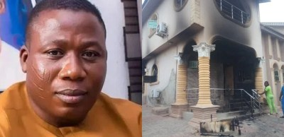 Sunday igboho vs Fulani herdsmen: My burnt property is worth N50m, says Sunday Igboho