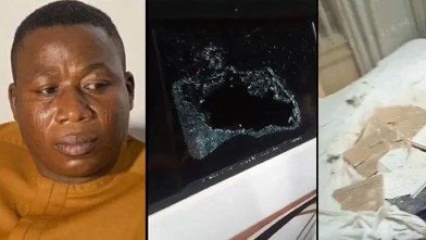Sunday Igboho's residence attack