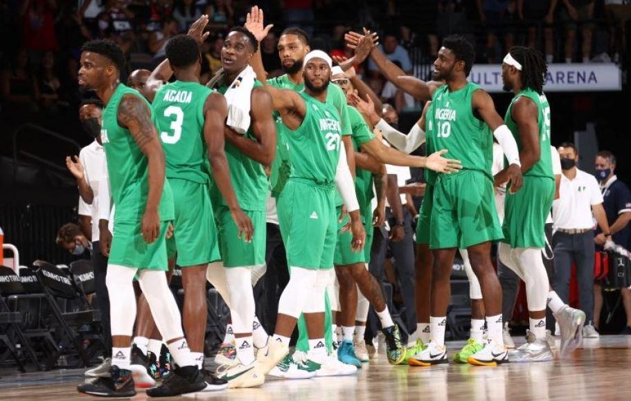 Nigeria vs US basketball