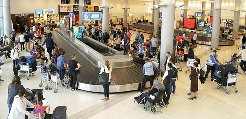 Passengers at Abu Dhabi airport