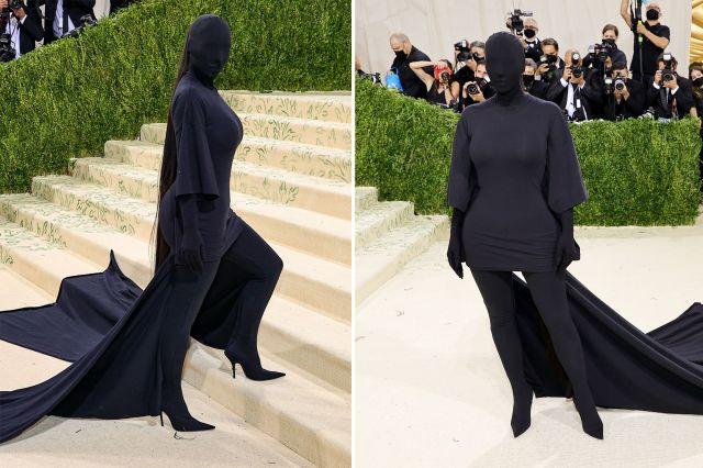 Met Gala 2021: Kim Kardashian, Rihanna, other celebrities show off  glamourous outfits