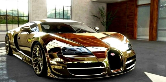 Flo Rida Gold Chrome Bugatti