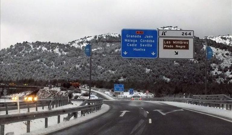 La Junta de Andalucía, condenada por una carretera en mal estado