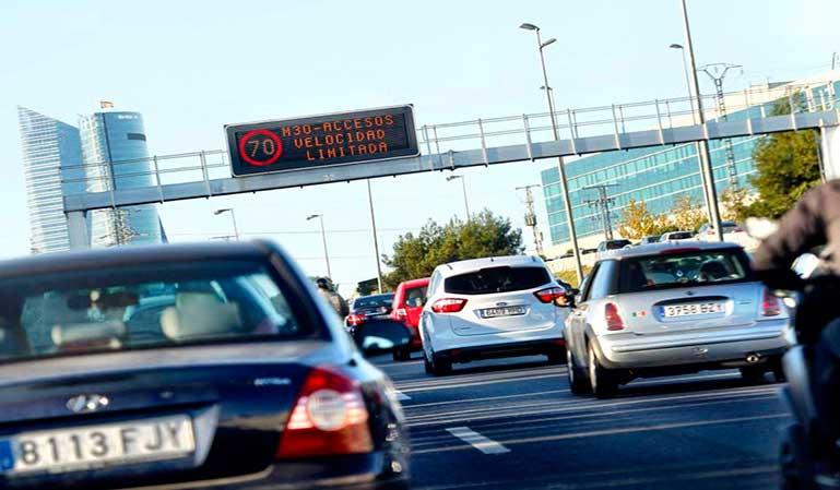 Más multas en Madrid, pero sin descenso de la siniestralidad