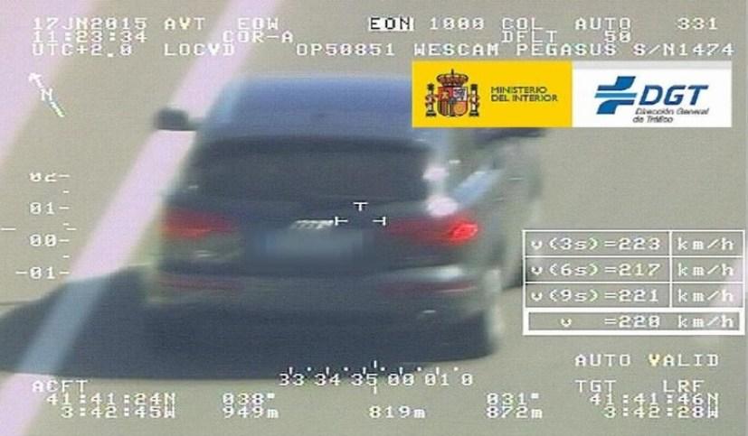 Las multas de tráfico deberán ir acompañadas de pruebas