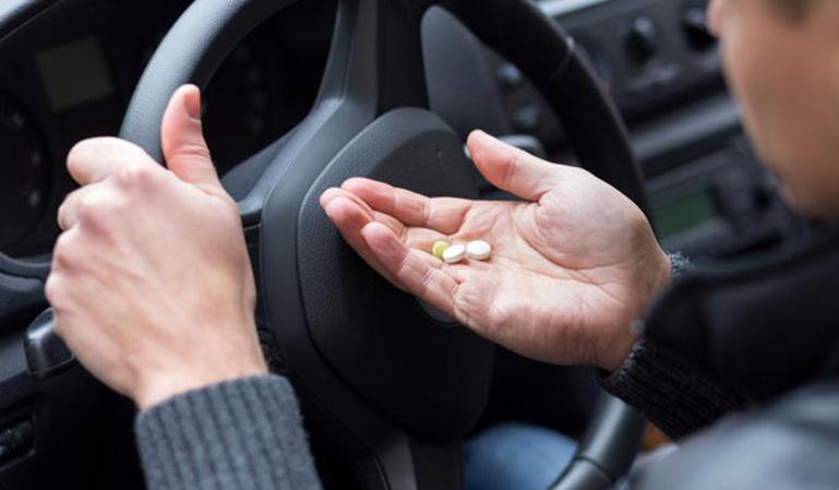 Los medicamentos que afectan a la conducción