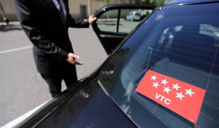 Los VTC no pueden captar clientes