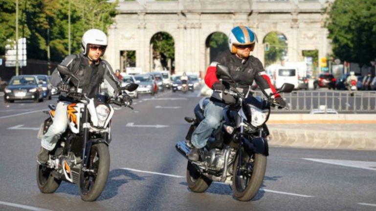Las multas más frecuentes en moto
