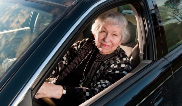 Los accidentes de los ancianos al volante