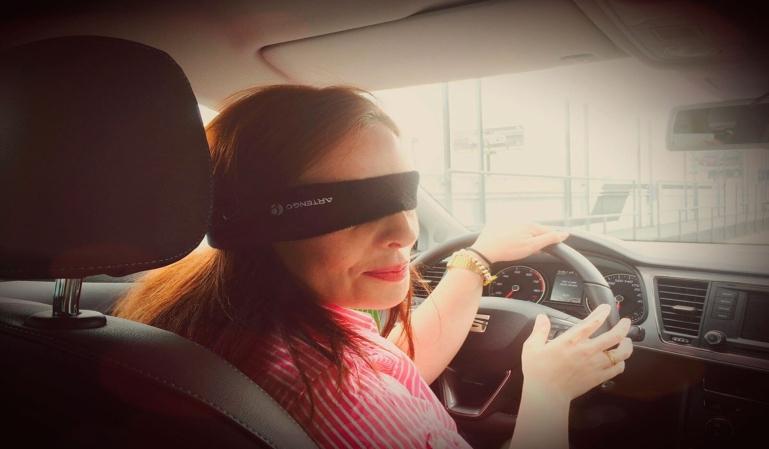 Conducción temeraria que se hace viral en internet