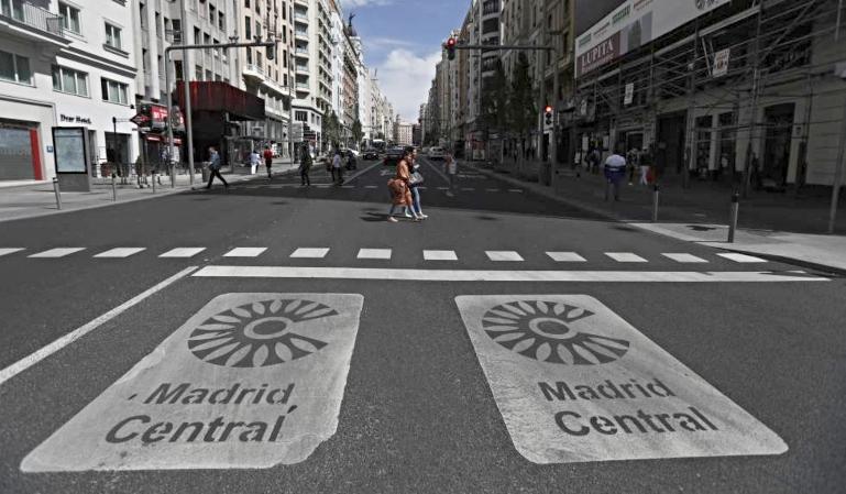 Madrid Central sin restricciones a partir del 1 de julio
