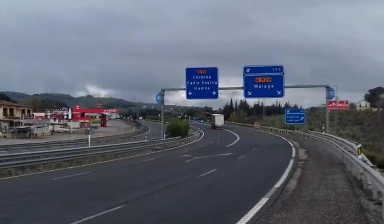 Los camiones no pueden circular por algunas carreteras