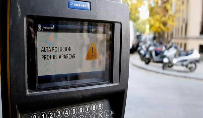 Más de 8.000 multas en Madrid por la contaminación