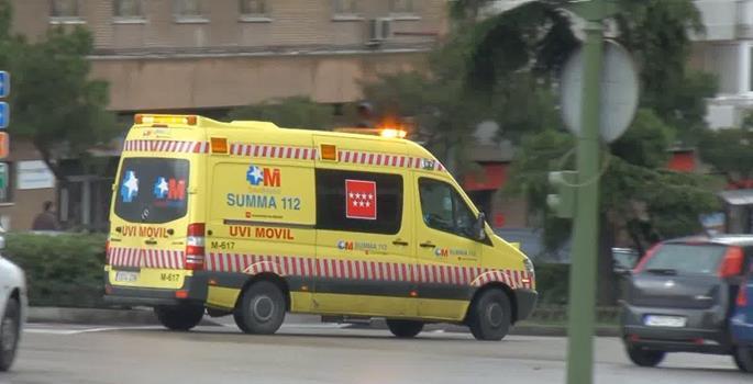 Multa por exceso de velocidad a una ambulancia de servicio