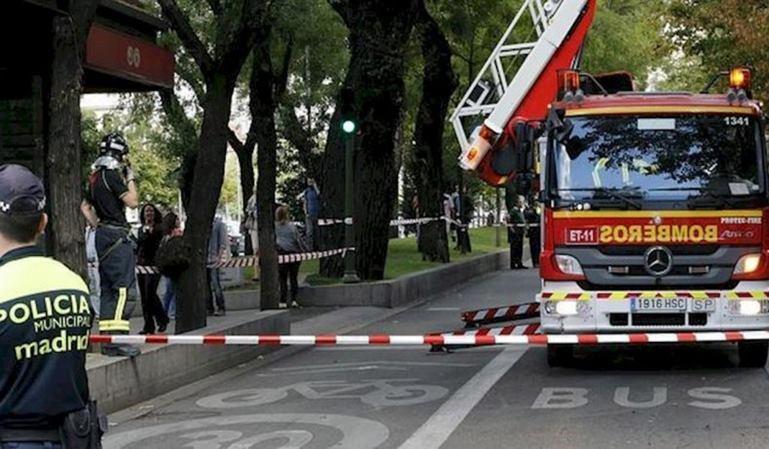 Polémica multa de velocidad a un camión de bomberos