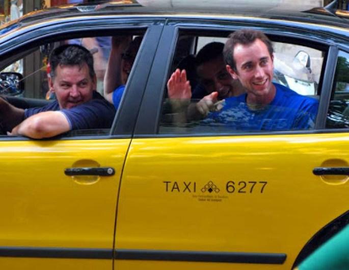 Carreras de taxi compartidas