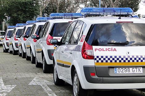 Una huelga de 'bolis caídos' provoca una fuerte caída de multas de tráfico en Sevilla