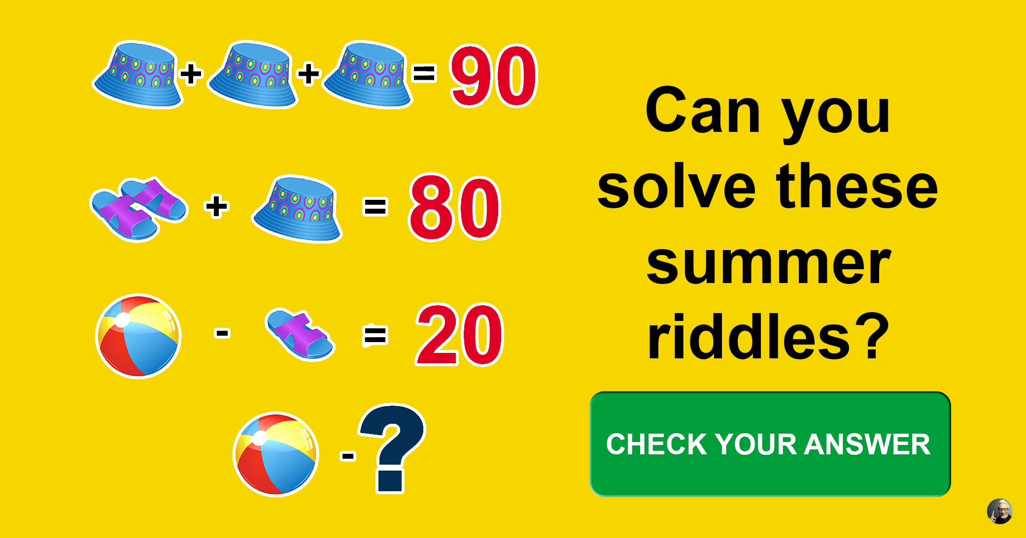 Try To Solve These 7 Funny Riddles About Summer