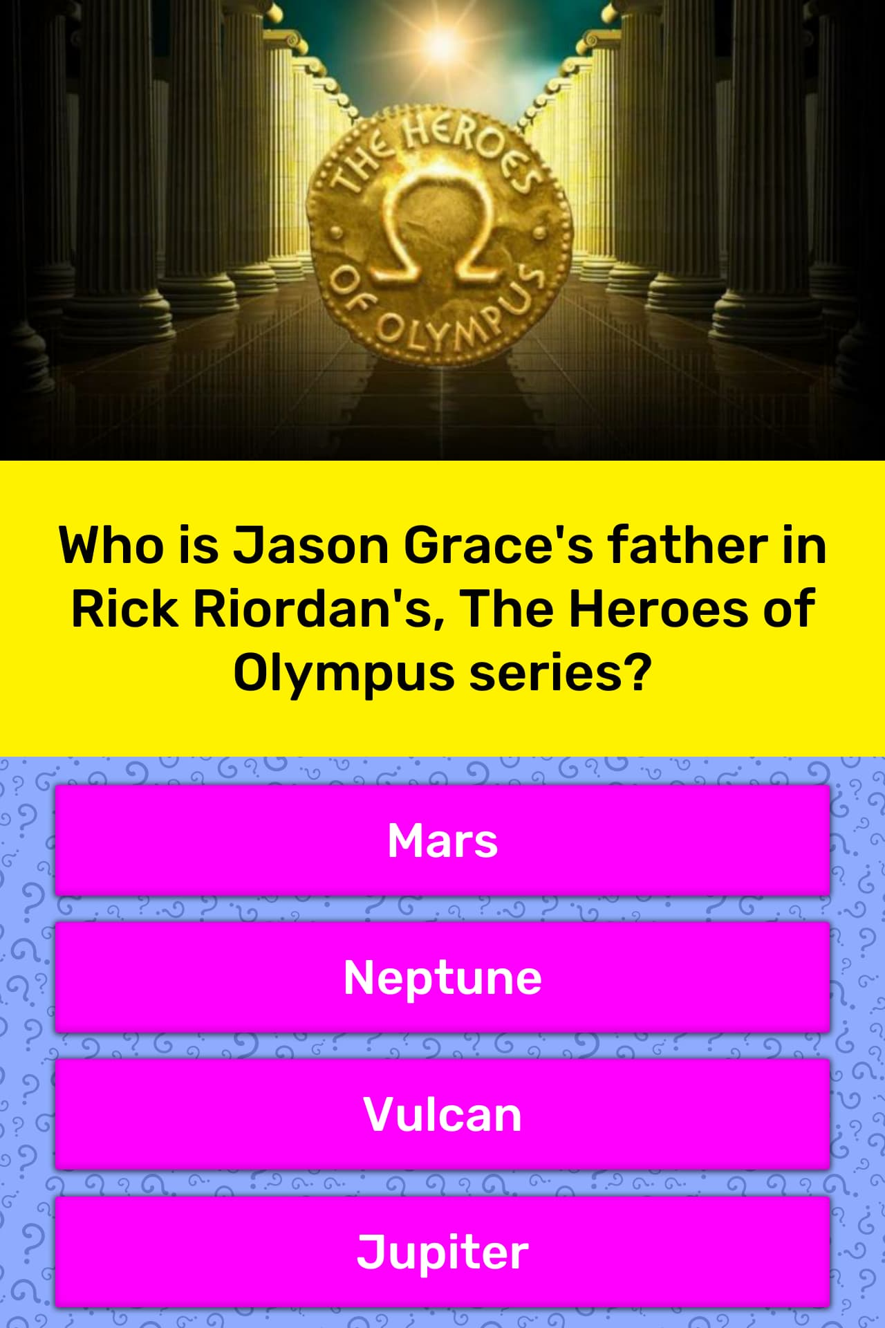 Who Is Jason Grace S Father In Rick