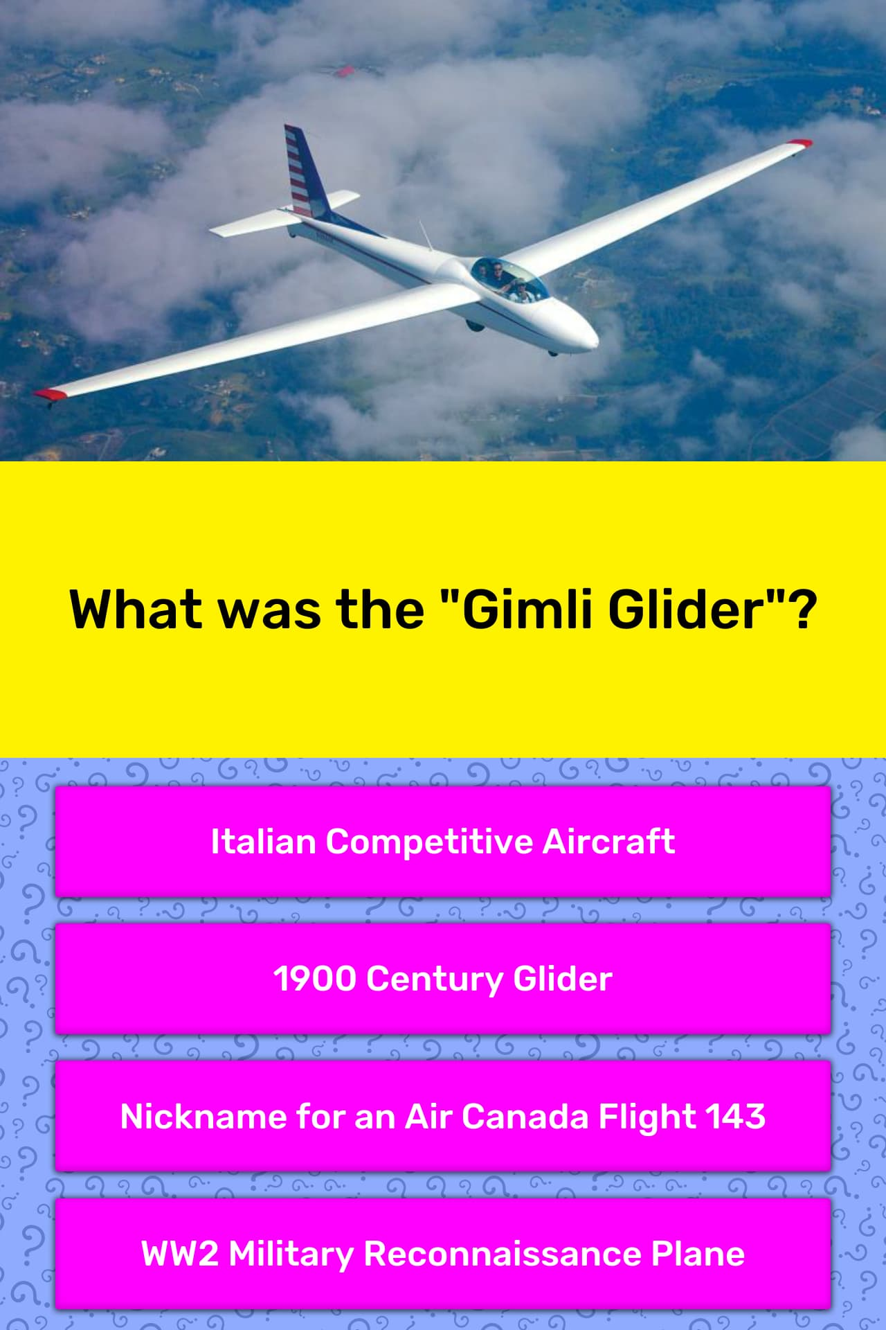 What Was The Gimli Glider