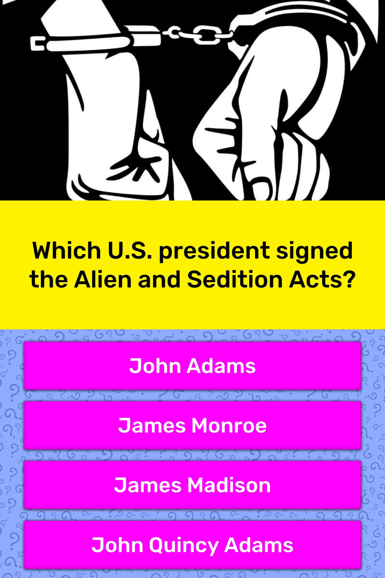 Which U S President Signed The