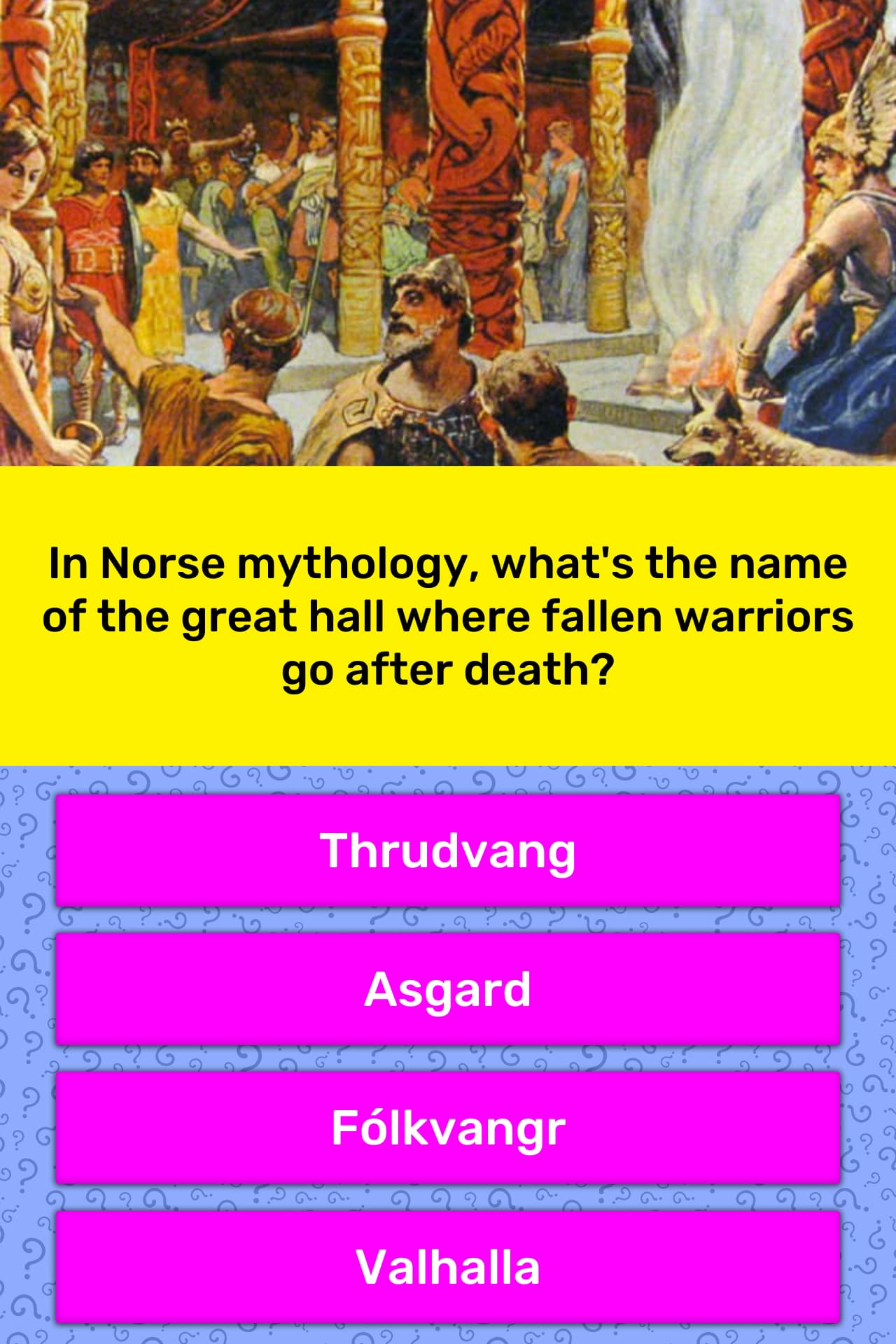 In Norse Mythology What S The Name