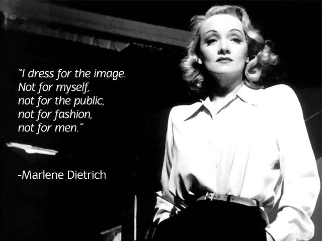 Image result for marlene dietrich quote