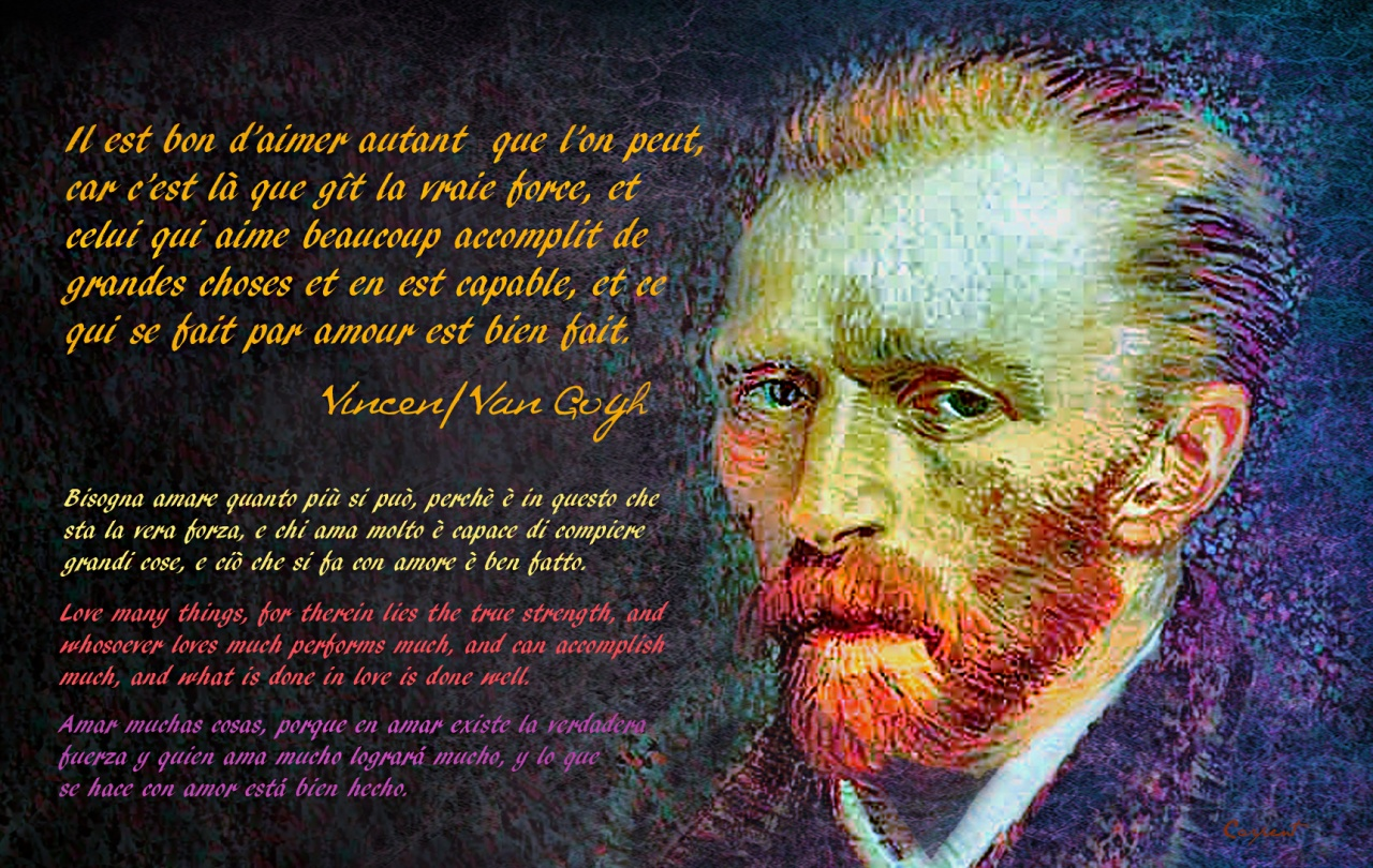 Vincent Van Gogh S Quotes Famous And Not Much