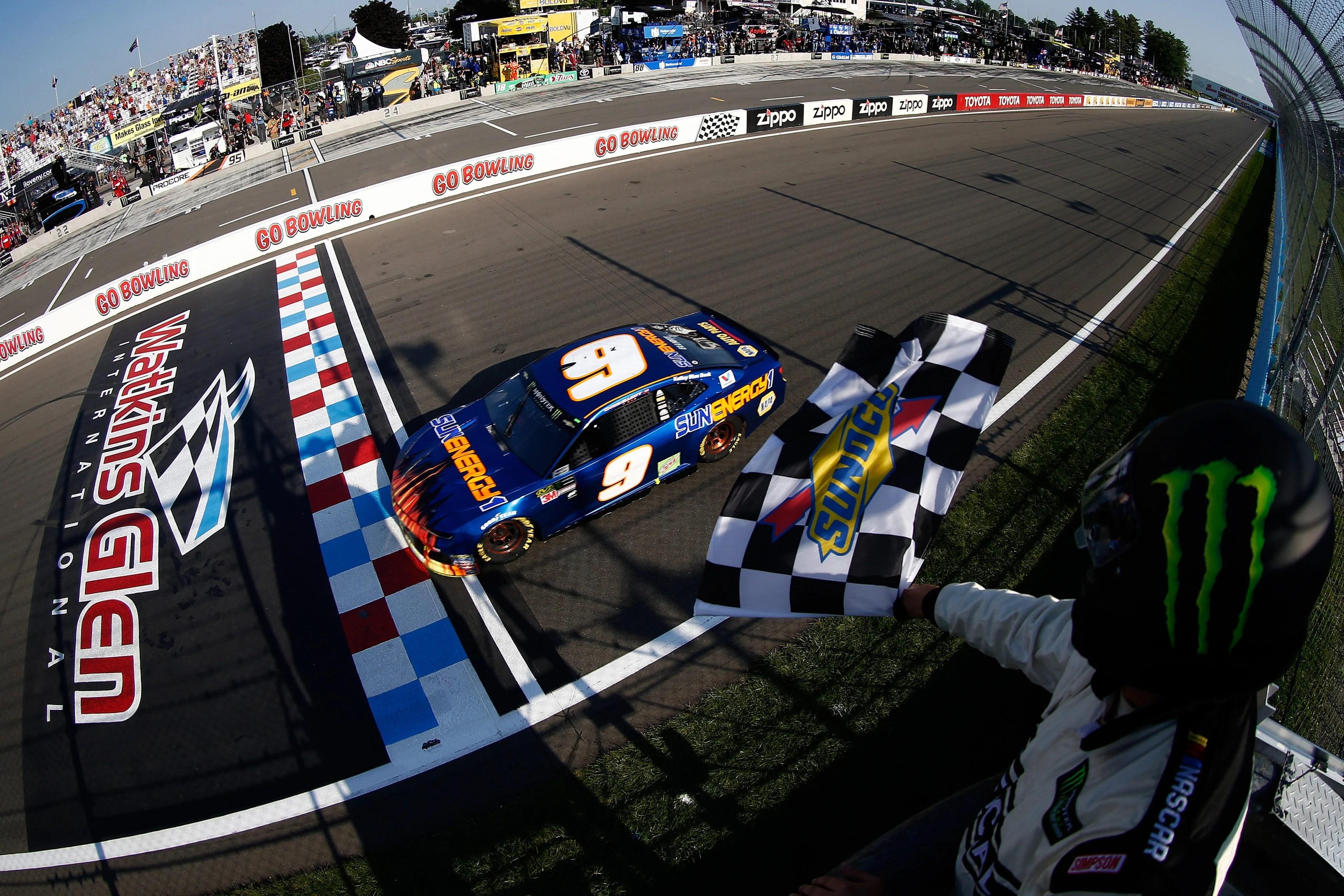 Watkins Glen Nascar Race Track