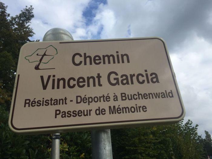 Vincent Garcia a désormais une rue à son nom à Trélissac - Radio France