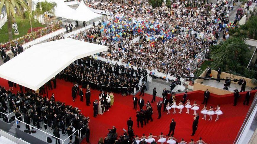 tapis rouge pour le festival de cannes