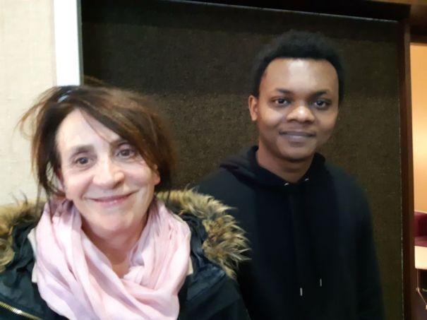 Françoise héberge désormais Saïko.  - Radio France