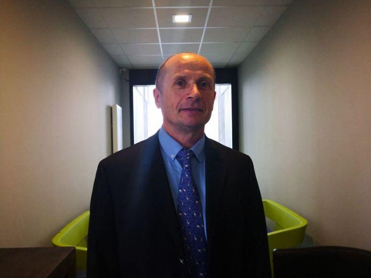Nicolas Brouzeng, le directeur de la centrale nucléaire de Golfech dans le Tarn-et-Garonne - Radio France