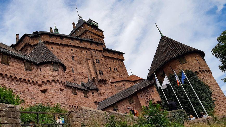 Le Château du Haut-Koenigsbourg, dans le Bas-Rhin