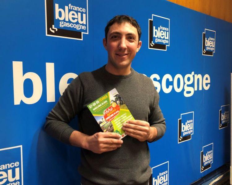 Cedric Berdoulet, président du comité de foire est notre invité - Radio France