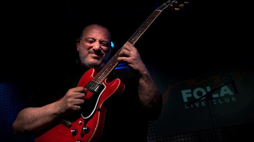 Philippe Troisi en concert au Jazz Fola à Luynes.