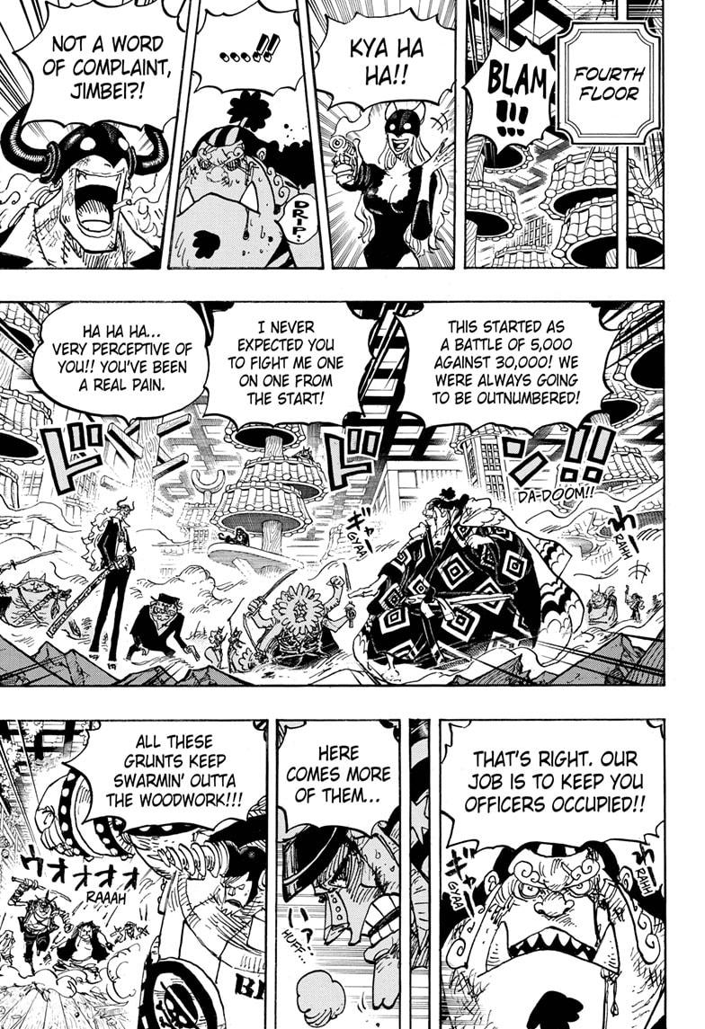 One Piece Chapter 1017 Page 3