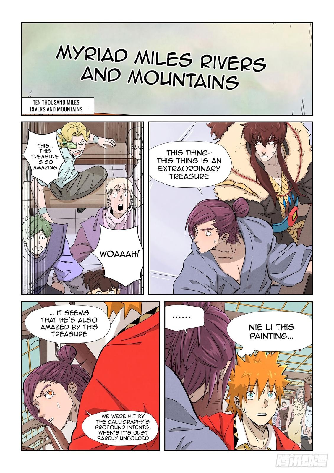 Tales of Demons and Gods Chapter 338.5 Page 2